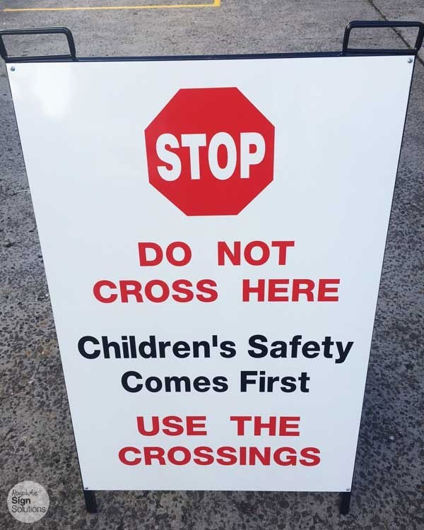 safety signs schools