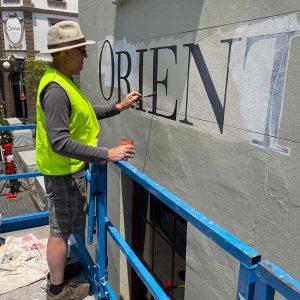 restoritive signwriting sydney