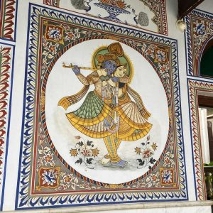 Wall painting Mandawa India
