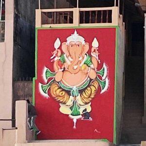 Ganesh Mural Varanassi