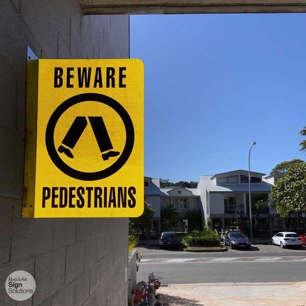 carpark signage